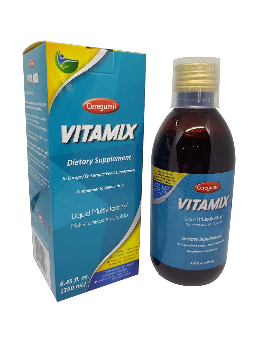 Ceregumil U8-PSAJ-QFKS 250 ml Ceregumil VITAMIX Liquid Multivitamin with Vitamin B Complex B12 & B6