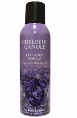Cheerful Candle 189323 7 oz Room Air Infuser Spray - Lavender Vanilla