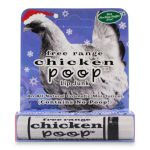 Chicken Poop 1018 0.15 oz Holiday Lip Balm
