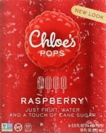 Chloes KHFM00477463 Fruit Pop-Raspberry - 10 oz