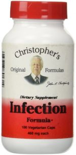 Christophers Original Formulas 689131 Infection Formula 100 Capsules