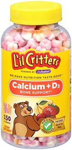 Church & Dwght Vitamins 1889303 Lil Critters Calcium Gummy Bears with Vitamin D3 150 Count