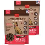 Cloud Star 192959800272 5 oz Dynamo Dog Skin & Coat Salmon Functional Treats - Pack of 2