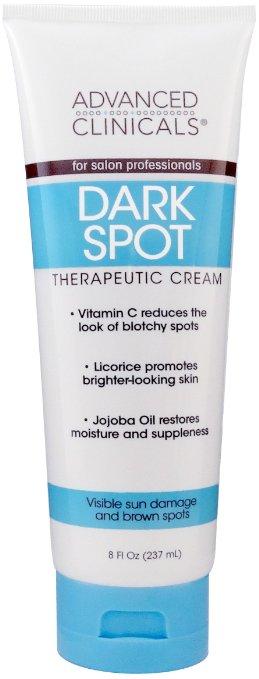 Concept Laboratories 7959281 Advanced Clinicals Dark Spot Cream 8 oz