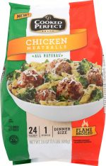 Cooked Perfect KHFM00313141 Chicken Meatballs - 24 oz