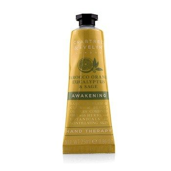 Crabtree & Evelyn 222358 0.86 oz Tarocco Orange Eucalyptus & Sage Awakening Hand Therapy