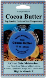 Crafty Bubbles CB63 Cocoa Butter 1 Ounce/Pkg