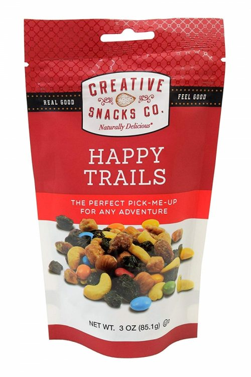 Creative Snack 304701 Happy Trails Grab Go Nuts 3 oz - Pack of 6