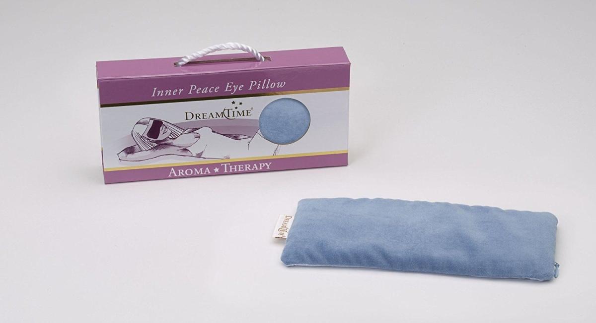 Custom Solutions 40906606 DreamTime Inner Peace Velvet Eye Pillow Blue