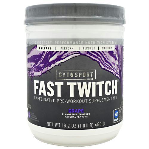 Cytosport 400685 16.2 oz Fast Twitch Grape - 20 Servings