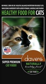 Daves Pet Food 685038111296 8 lbs Naturally Healthy Adult Cat Food
