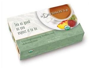 Davidsons Organics 2087 Childrens Christmas Tea - Pack of 12 & Box of 8