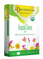 Davidsons Organics 6511 Tropical Green Bulk Tea
