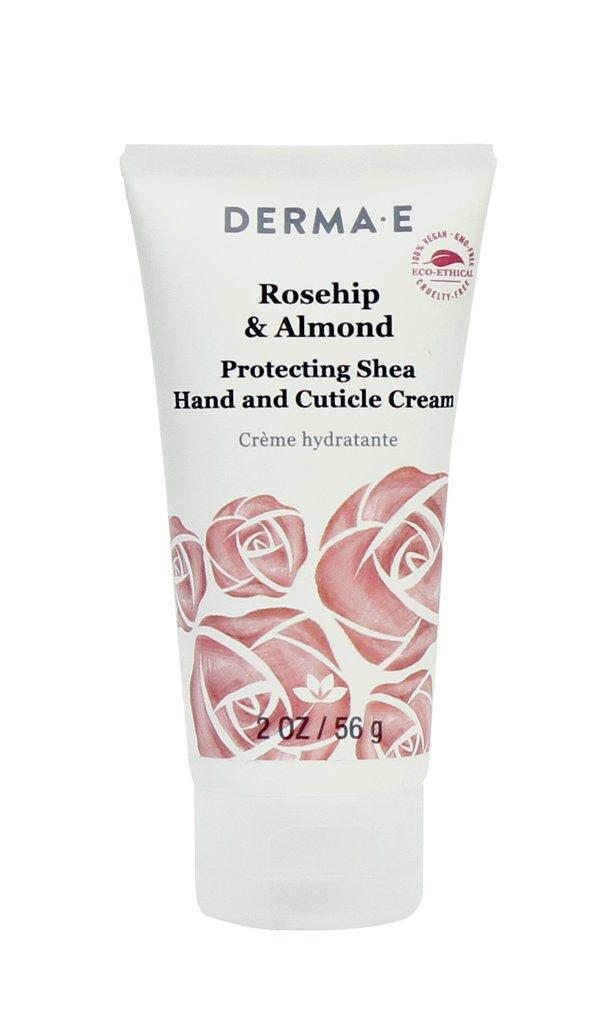 Derma E Natural Skincare 158075 2oz Rosehip & Almond Protecting Shea Hand & Cuticle Cream - Case of 6