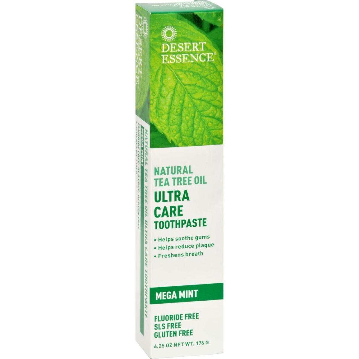 Desert Essence HG1246552 6.25 oz Tea Tree U-Care Mint Toothpaste