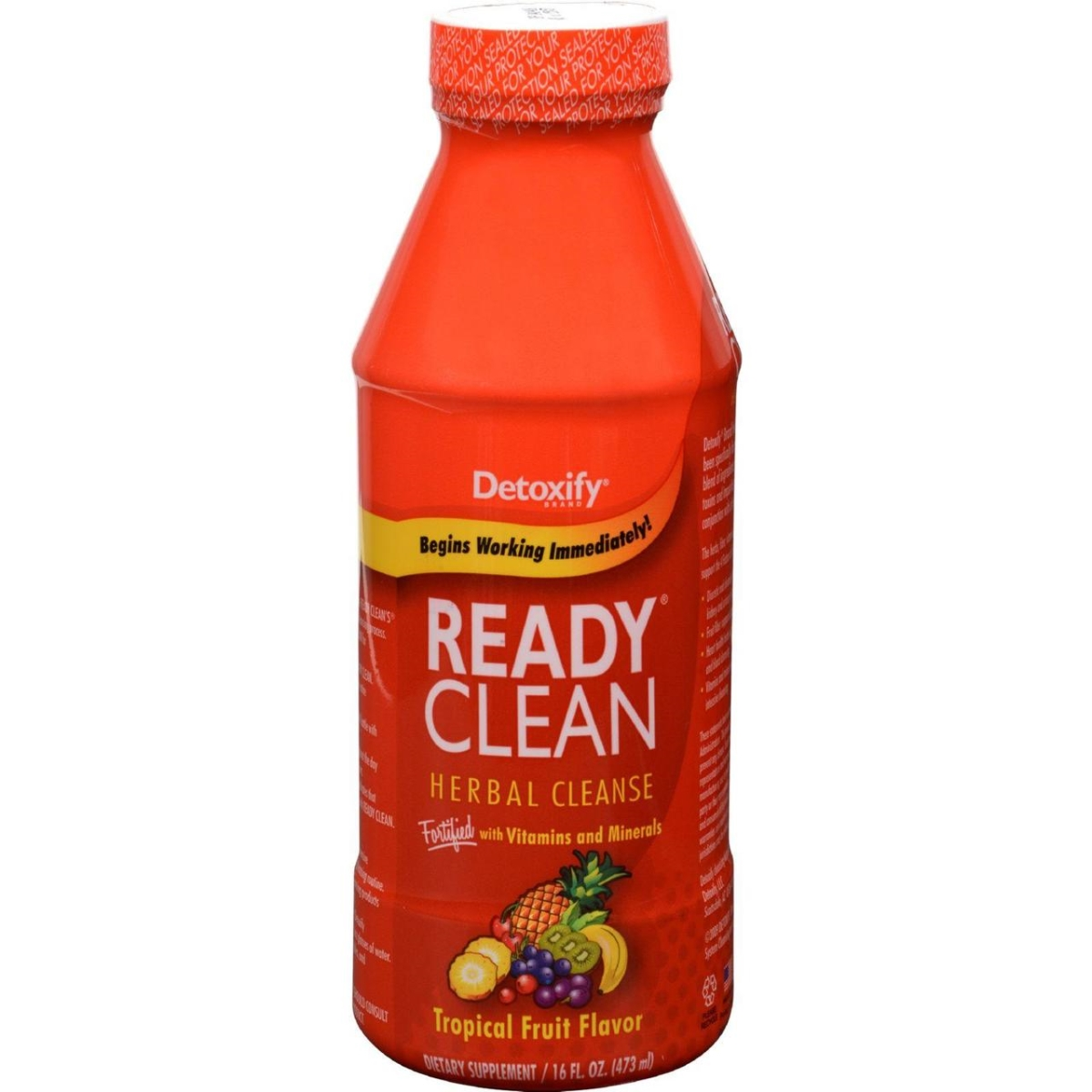 Detoxify HG0428532 16 fl oz Ready Clean Herbal Natural Tropical