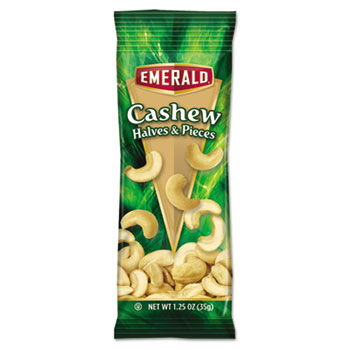 Diamond Foods Inc. 94017 Cashew Pieces 1.25 oz. Tube Package 12/Box