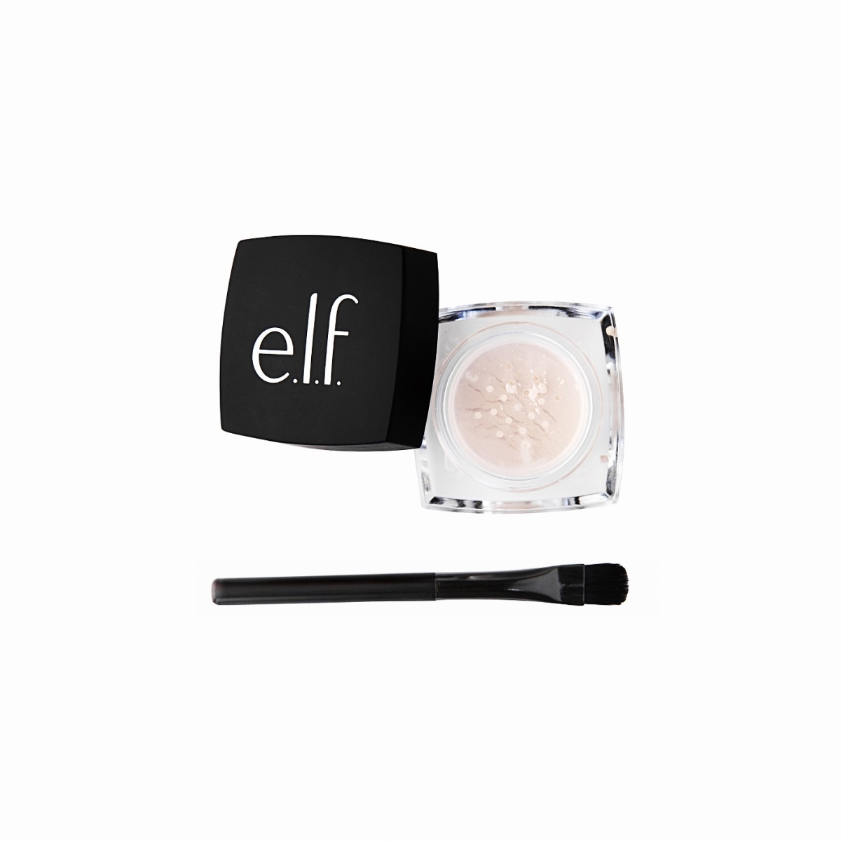 ELF Cosmetics 7993293 ELF Smooth & Set Eye Powder Brown 81511 - Pack of 4