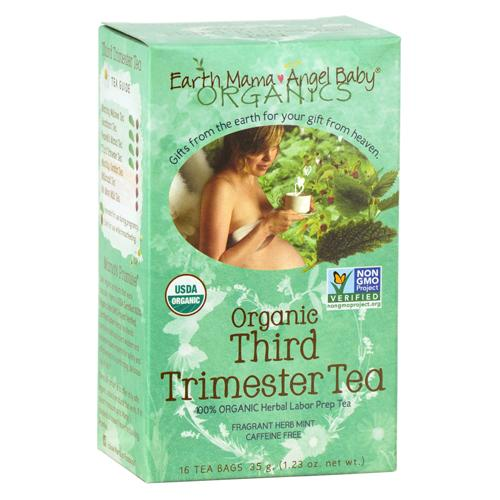 Earth Mama Angel Baby HG0466425 Third Trimester Tea - 16 Tea Bags