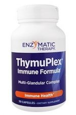 Enzymatic Therapy 153951 ThymuPlex Immune Formula - 50 Capsules Case of 12