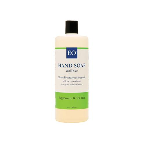 Eo Products HG0817759 32 fl oz Liquid Hand Soap Peppermint & Tea Tree