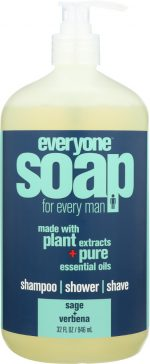 Everyone KHFM00319076 MenS Soap Lemon Verbena Sage - 32 oz