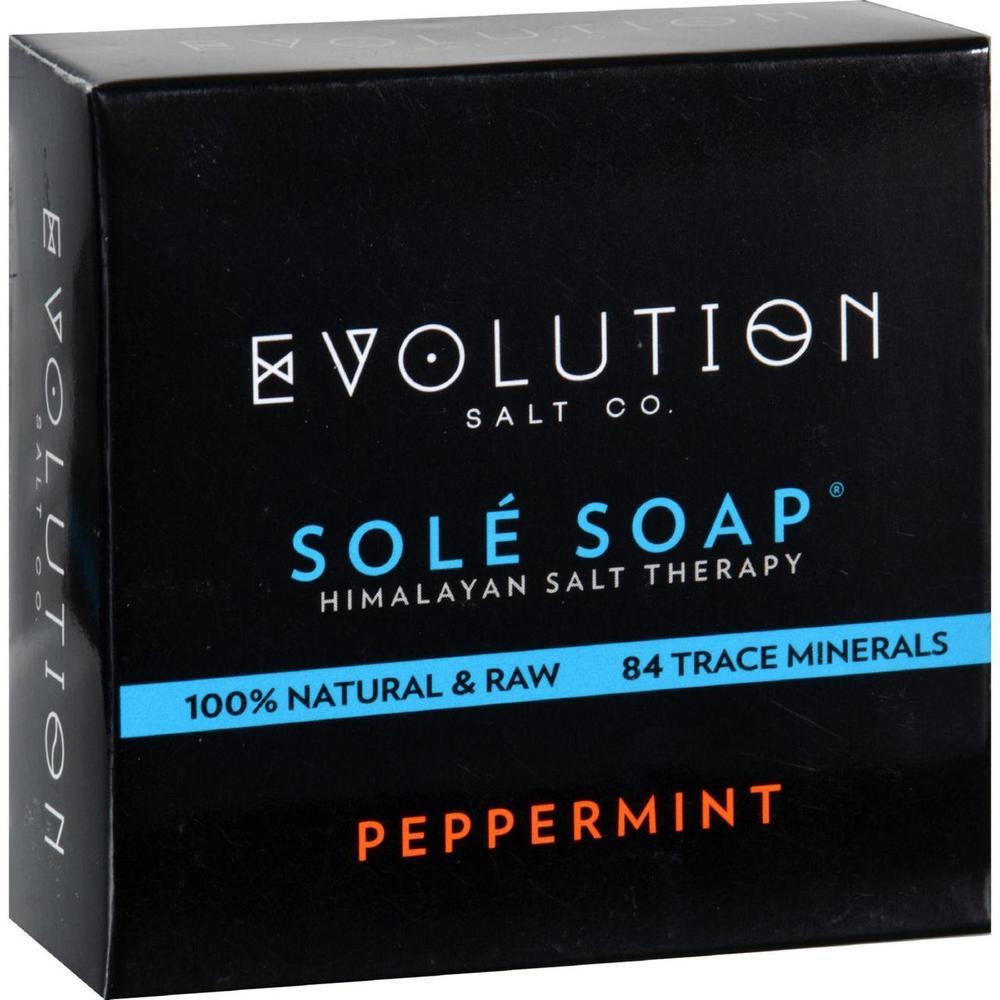 Evolution Salt HG1702273 4.5 oz Sole Bath Soap Peppermint