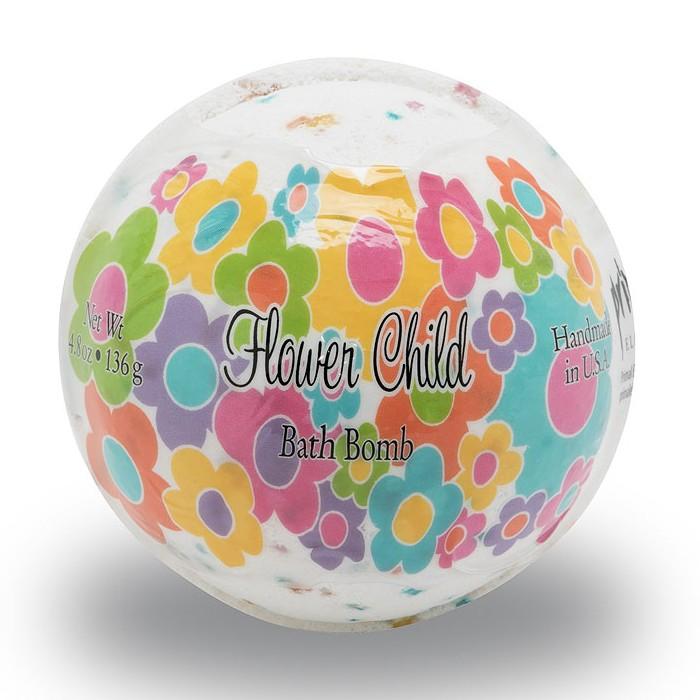Flowerchild 4.8 oz. Bath Bomb