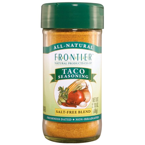 Frontier Natural Products Taco Seasoning Salt-Free - 2.25 Oz
