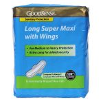 Geiss Destin & Dunn GDDHS00047 Long Super Maxi Pad with Wings