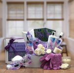 Gift Basket Drop Shipping 819632 Spa Gift Box - Lavender Sky