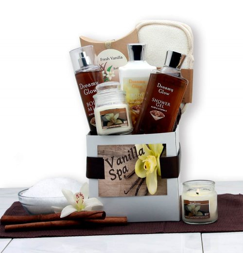 Gift Basket Drop Shipping 819872 Spa Care Package - Vanilla
