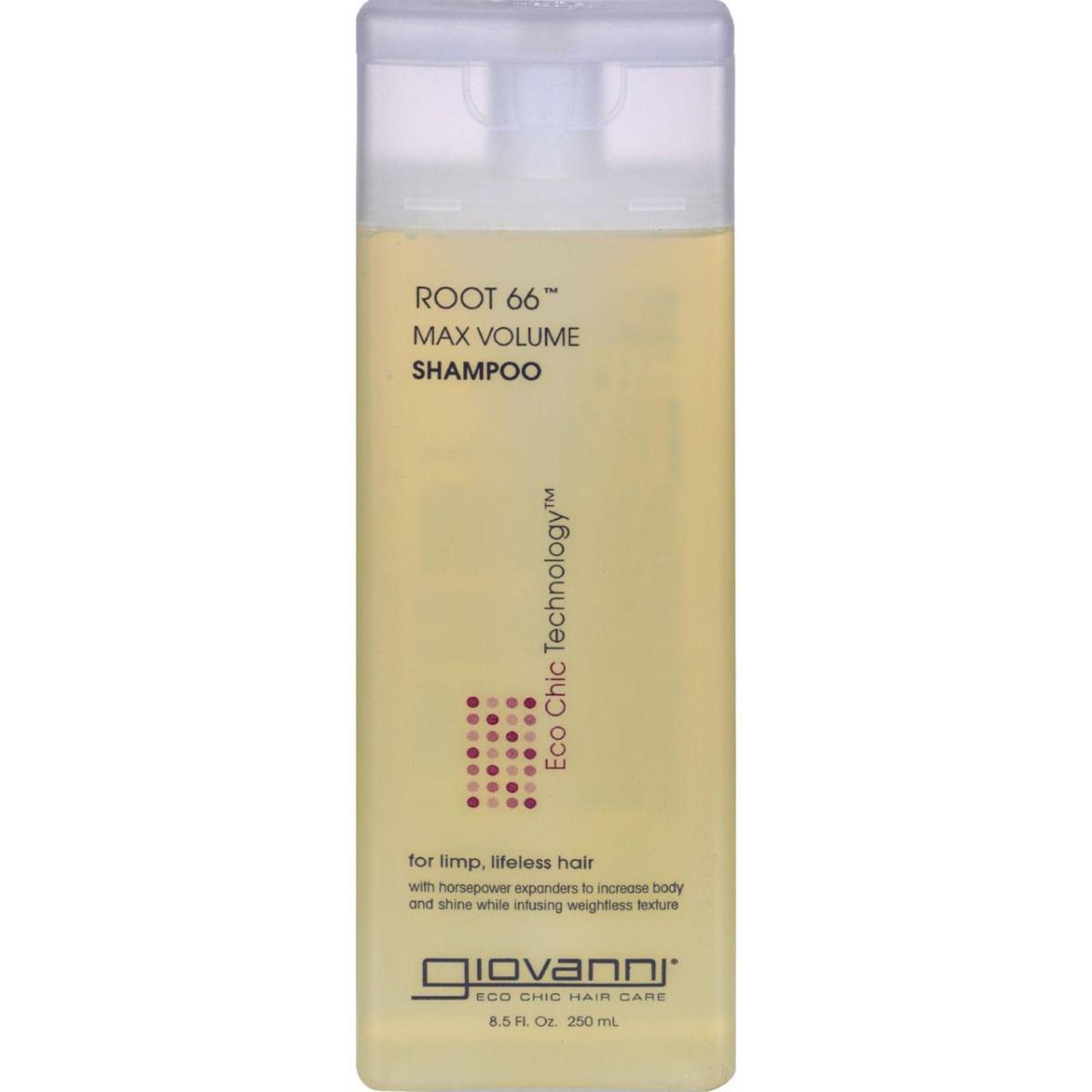 Giovanni Hair Care Products HG0217042 8.5 fl oz Root 66 Max Volume Shampoo