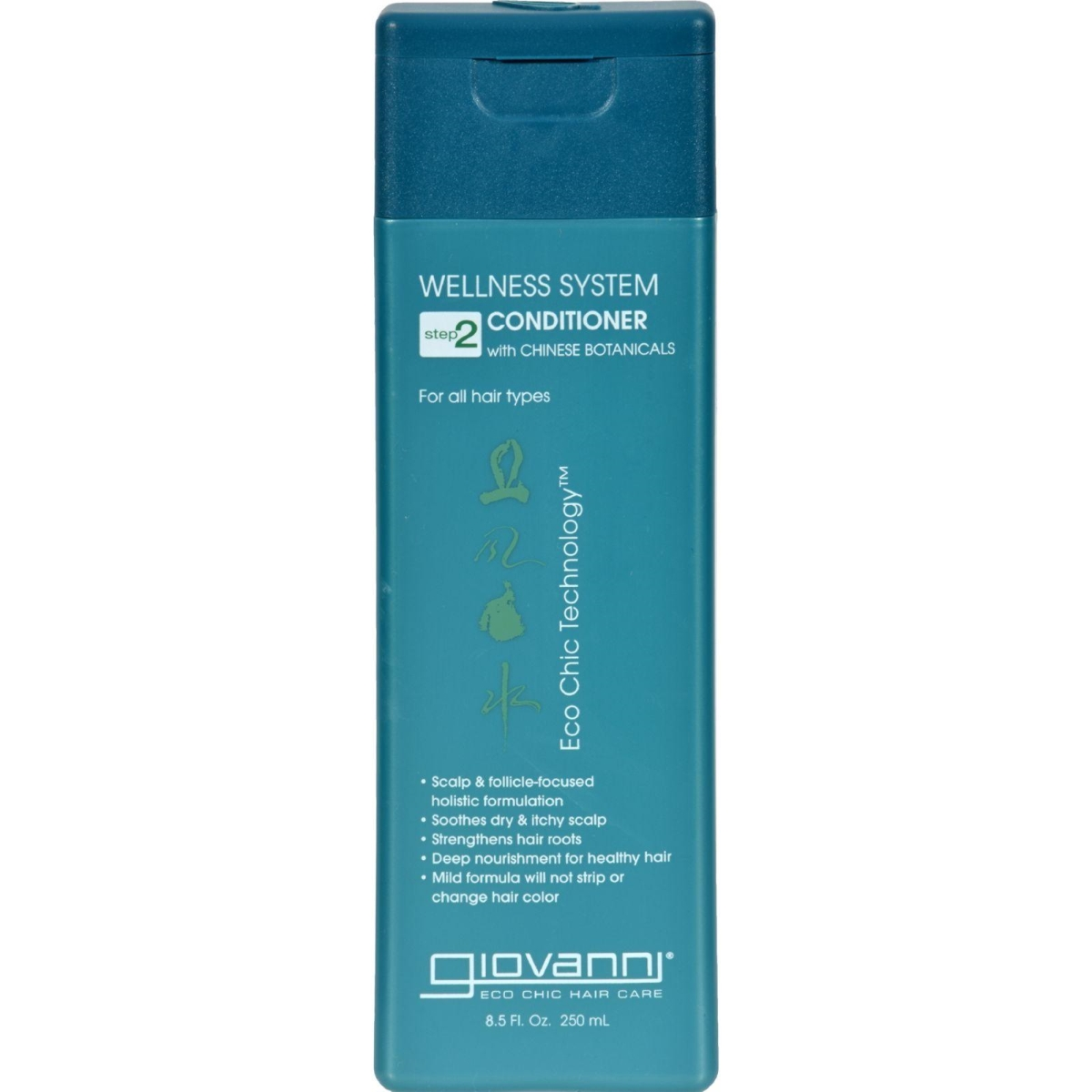 Giovanni Hair Care Products HG0570747 8.5 fl oz Wellness System Step 2 Conditioner with Chinese Botanicals