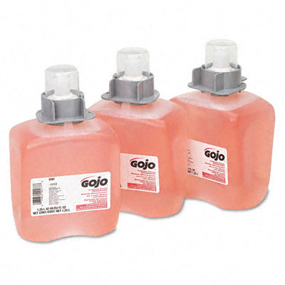 Gojo 516103CT FMX-12 Foam Hand Wash Cranberry FMX-12 Dispenser 1250ml Pump Three/ctn