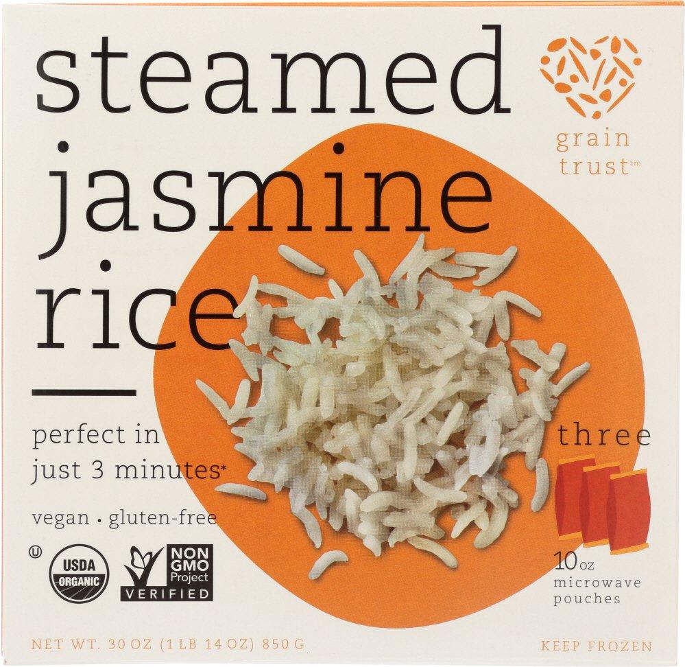 Grain Trust KHFM00393165 Steamed Jasmine Rice - 30 oz