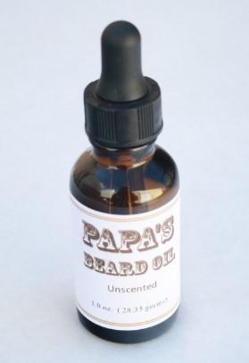 Grandmas Pure & Natural 622043 1oz Papas Beard Oil Unscented - Case of 6