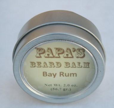 Grandmas Pure & Natural 622045 1oz Papas Beard Oil Bay Rum Case of 6