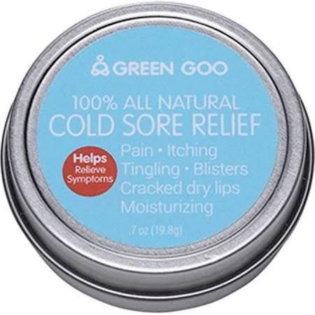Green Goo GOO-05492 7 oz Travel Tin Goo Cold Sore Remedy - Green