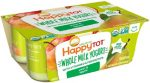 Happy Family KHFM00317417 Pear & Apple Yogurt - 4 oz - Pack of 6