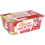 Happy Family KHFM00317418 Yogurt Strawberry Banana Oat - 4 oz - 6 Piece