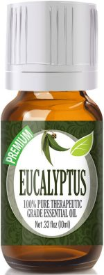 Healing Solutions 1743554 Eucalyptus Essential Oil 10ml - Pack of 3