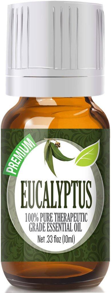 Healing Solutions 1743554 Eucalyptus Essential Oil 10ml - Pack of 3