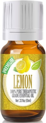 Healing Solutions 1743589 Lemon Essential Oil 10ml - Pack of 3
