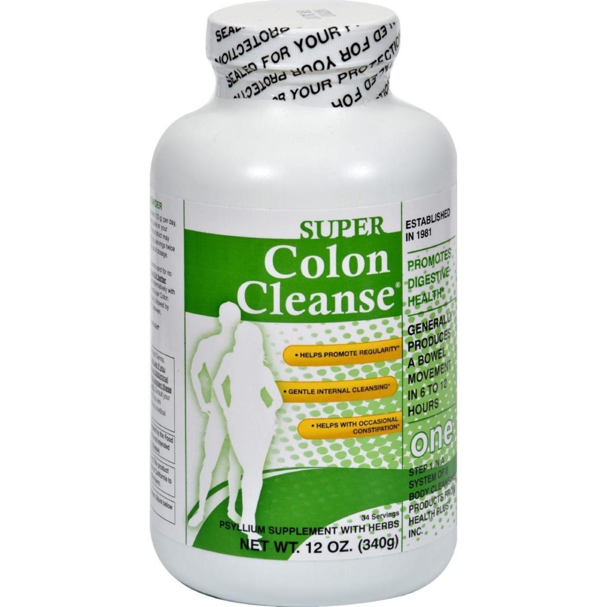 Health Plus HG0377994 12 oz Super Colon Cleanse