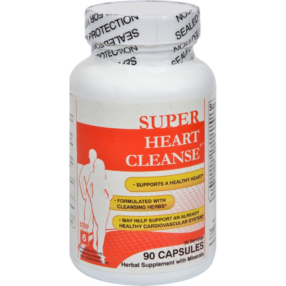 Health Plus HG0977595 Heart Cleanse Total Body Cleansing System - 90 Capsules