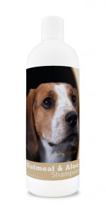 Healthy Breeds 840235100034 16 oz American English Coonhound Oatmeal Shampoo with Aloe