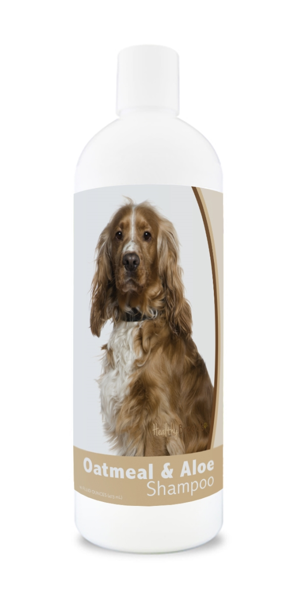 Healthy Breeds 840235106517 16 oz English Cocker Spaniel Oatmeal Shampoo with Aloe
