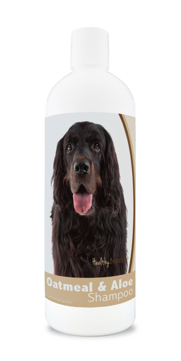 Healthy Breeds 840235108757 16 oz Gordon Setter Oatmeal Shampoo with Aloe