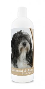 Healthy Breeds 840235110460 16 oz Lhasa Apso Oatmeal Shampoo with Aloe